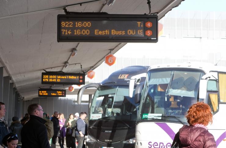 Pühade ajal lähedaste juurde jõudmiseks planeeri bussireis aegsasti ette