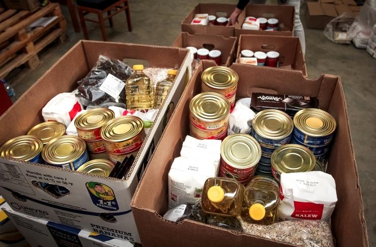 Toidupank kogus kahel päeval 44 624 kilo toitu