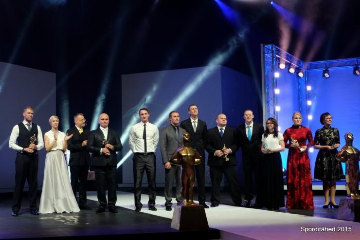 FOTOD! Tallinna aasta sportlased võitsid ka kuldsed Kristjanid