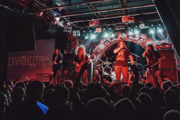 Tallinnas astub üles kuulus Cannibal Corpse