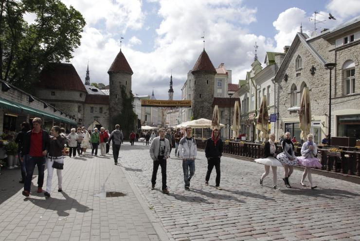 Tallinna elanikkond kasvas kuuga ligi 400 inimese võrra