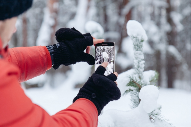 Fotograaf annab nõu: kuidas teha nutifoniga ilusaid talviseid pilte?
