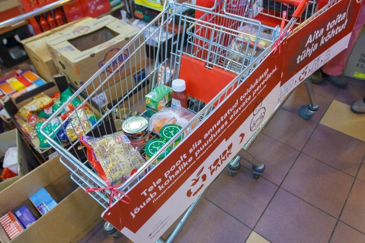 Amet soovitab toidu annetamisele eelnevalt toidu väärtus maha kanda