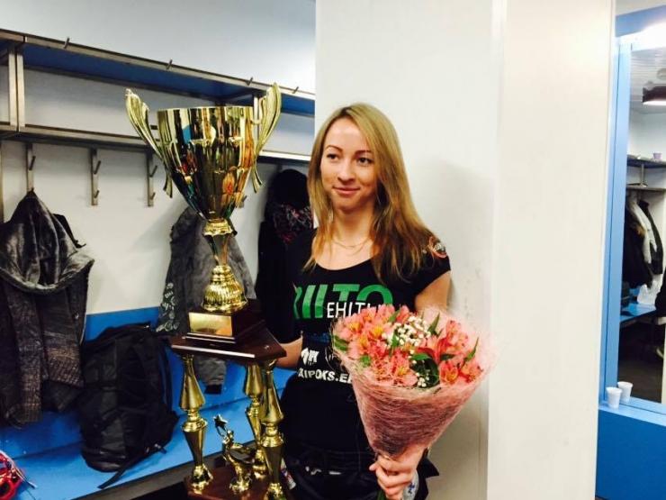Eesti Võitlusspordi Ühendus tunnistas Andra Aho aasta naissportlaseks