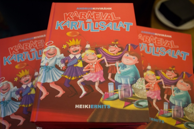 """Mullune müüduim raamat oli Kivirähu """"Karneval ja kartulisalat"""""""