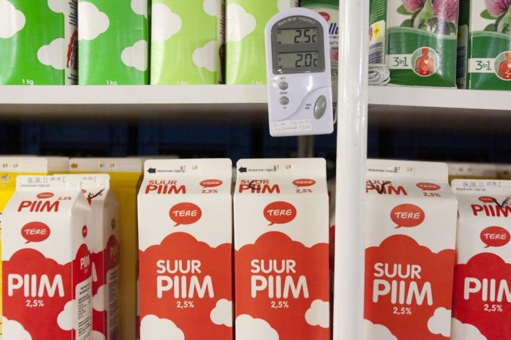 Piimatootjad nõuavad kohtus Tere vahendusfirma UP Varud pankrotti