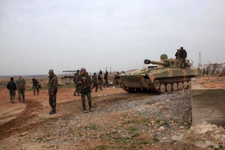 Al-Nusra Rinne: alustame Süürias 48 tunni jooksul pealetungi