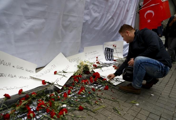 Istanbuli enesetapurünnakus kahtlustatakse Daiši