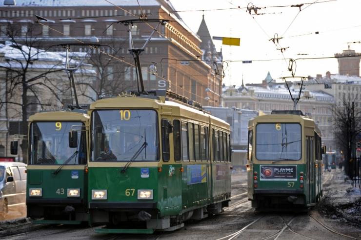 Varsti võib ühiskaardiga sõita ka Helsingi trammis