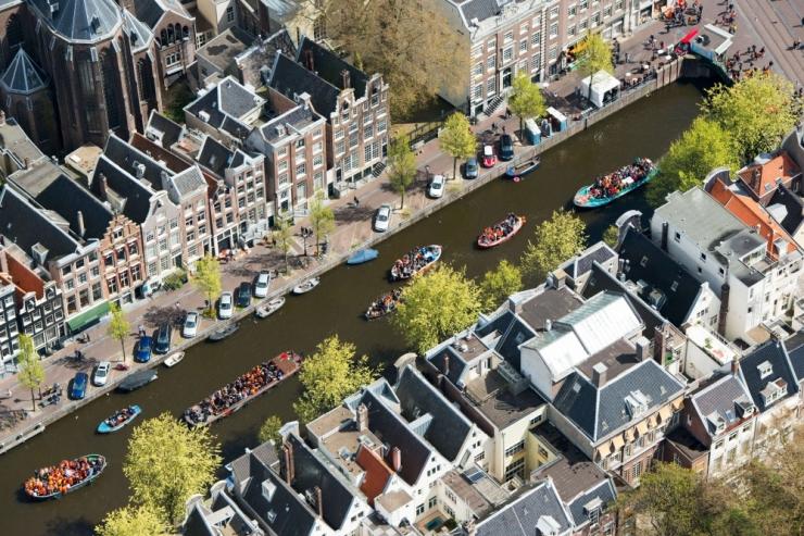 Eesti politseiametnikud pidasid Amsterdamis röövli kinni