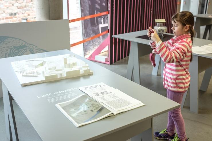 FOTOD! AHHAA avab tulevikulasteaedade näituse