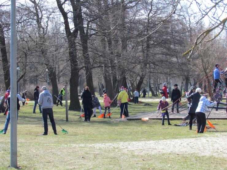 Laupäeval toimub Stroomi rannaalal Eesti suurim talgupäev