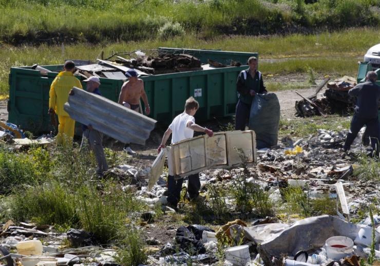 Tallinnas kogutakse ohtlikke jäätmeid