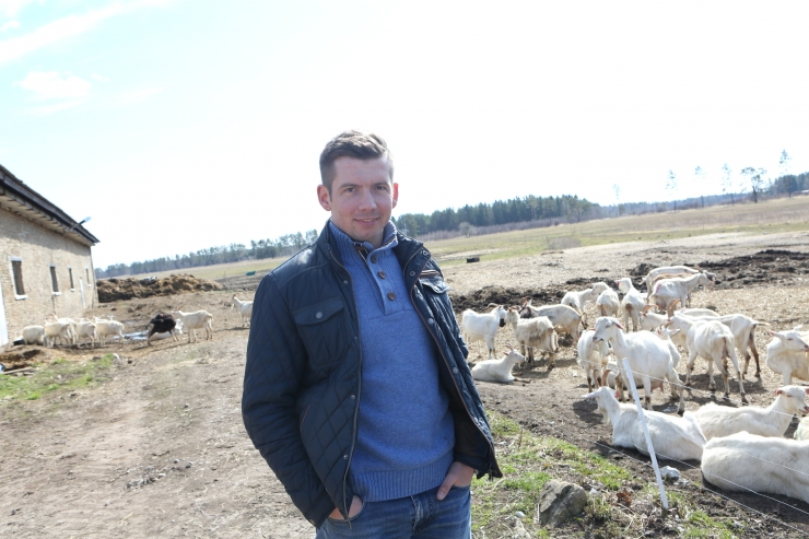 FOTOD! KITSEFARMI JUHT MARTIN REPINSKI: Kruuse ei saa põllumajandusest aru