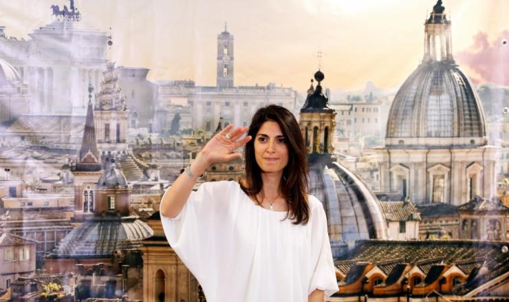 Virginia Raggi valiti Rooma esimeseks naislinnapeaks