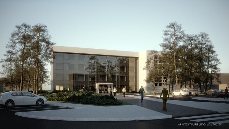 FOTOD! Mustamäe tervisekeskuse ehitus saab hoo sisse