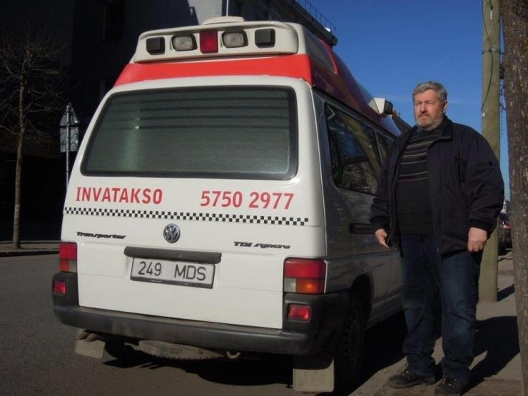 Filantroobist taksojuhil on invabussi ostuks puudu veel 17 000 eurot