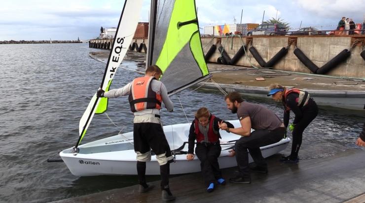 VIDEO! Invasportlane: purjetamine oli ekstreemne ja põnev!