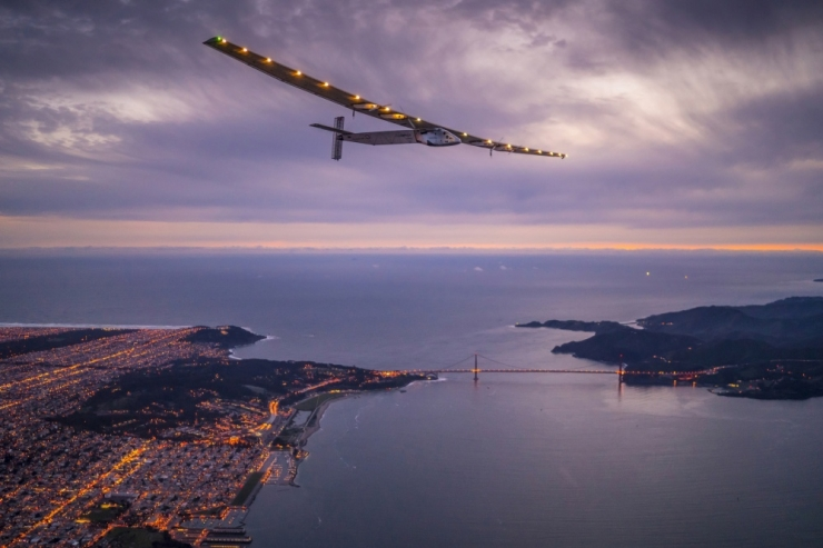 Päikeselennuk Solar Impulse 2 lõpetas ajaloolise ümbermaailmareisi