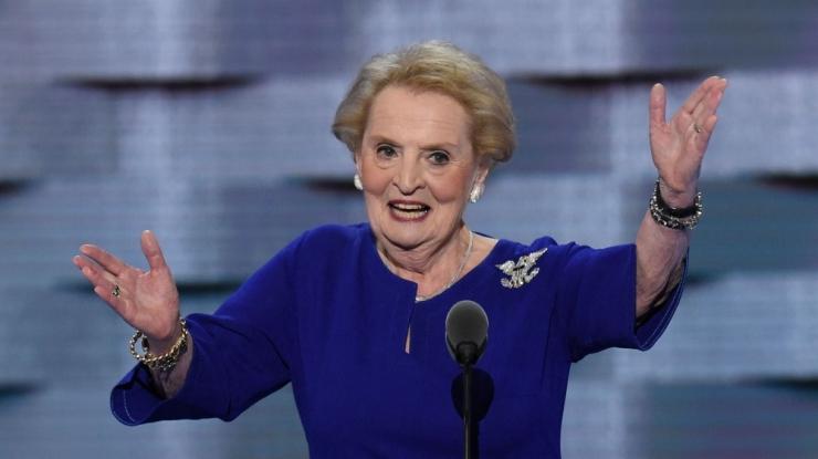 Madeleine Albright: Trumpi kandideerimine on kingitus Putinile