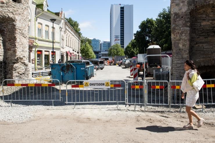 Viru, Vana turg ja Kuninga tänavate rekonstrueerimine püsib graafikus