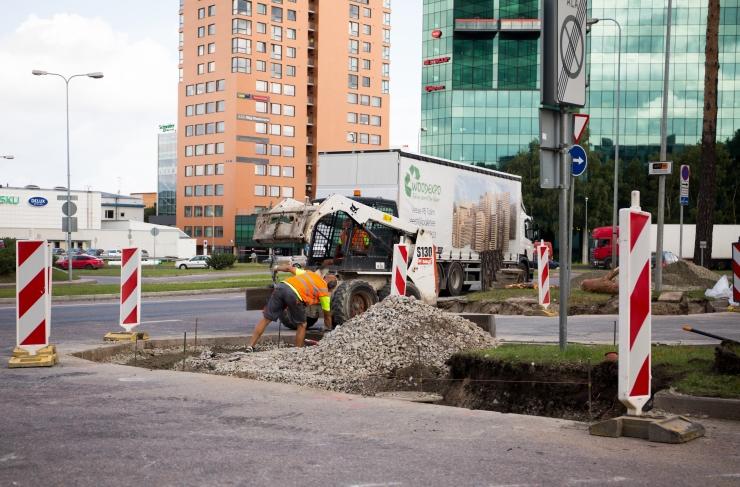 Augusti alguses suletakse Järvevana teel kesklinna suunaline parempööre