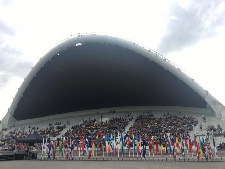 Tallinna Lauluväljakul avati veteranide MM orienteerumises