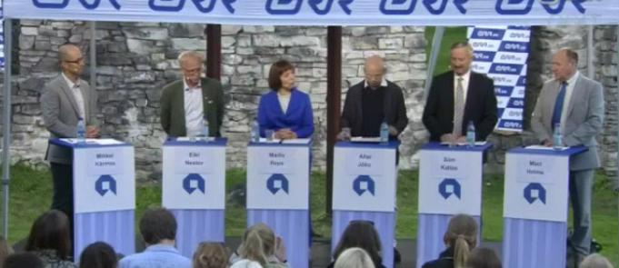 SUUR PRESIDENDIDEBATT! Millist presidenti vajab Eesti?