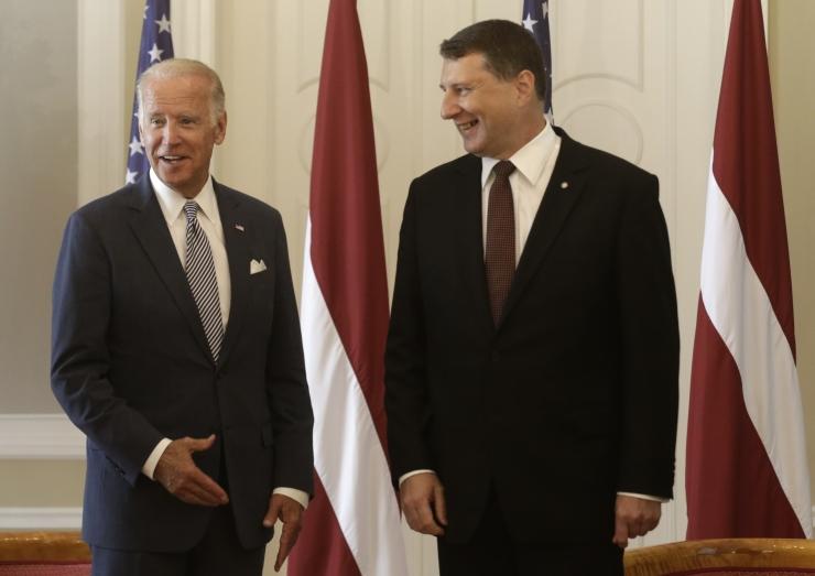 Läti: USA asepresidendi külastus kõrvaldas Trumpi tekitatud mure