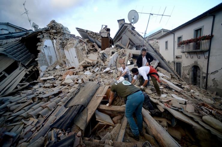 FOTOD! Itaalias hukkus maavärinas viis inimest