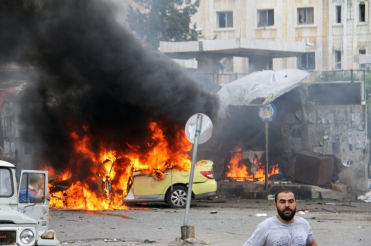Süüria valitsuse aladel sai plahvatustes surma 48 inimest