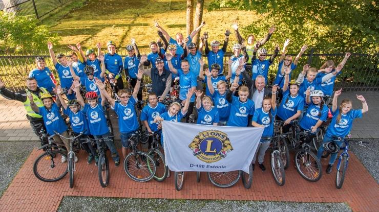 Spordinädal 2016 – Eesti Lionite heategevuslik rattaretk