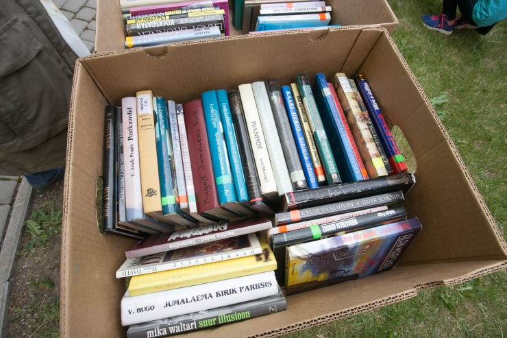 Alates tänasest saab tuua raamatuid tasuta raamatute laadale Kultuurikatlas