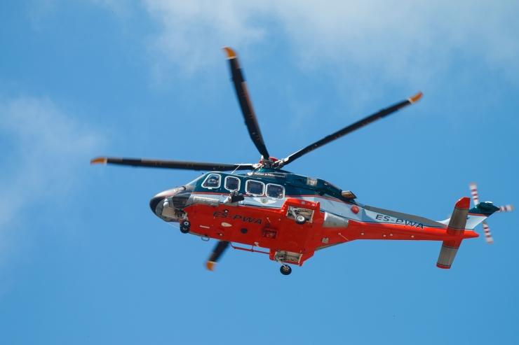 Revali Merekool avas basseini helikopteri päästeõppusteks