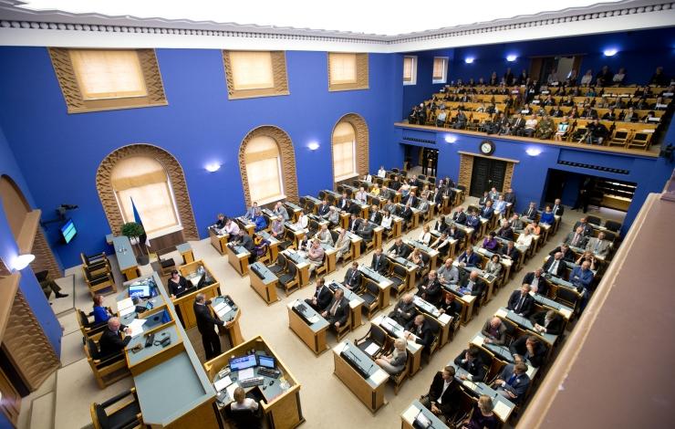 Fraktsioonide liidrid kinnitasid veelkord toetust Kaljulaiule