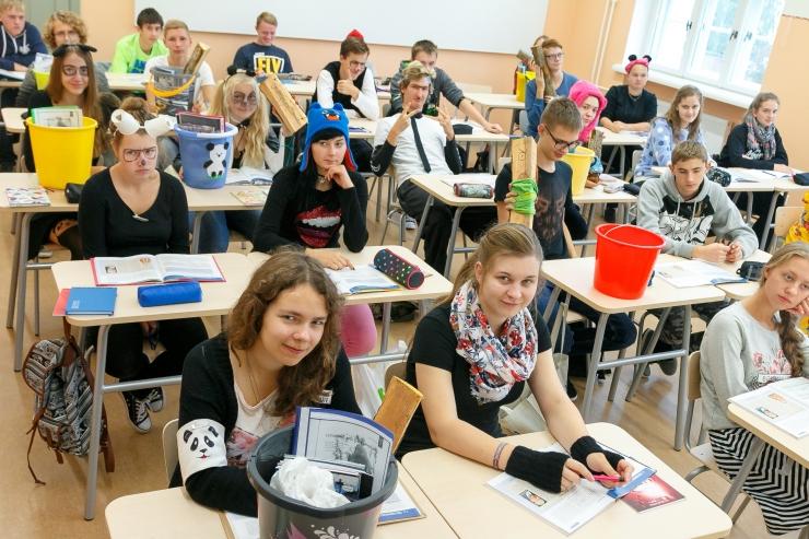 Sada ettevõtjat räägib kooliõpilastele enda edulugusid