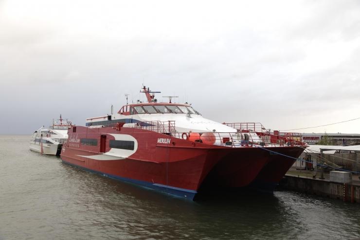 Tugev tuul häirib Linda Line'i laevade sõidugraafikut kuni pühapäevani