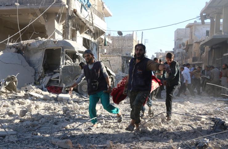 ÜRO: Aleppo idaosa tsiviilisikud elavad põrgus