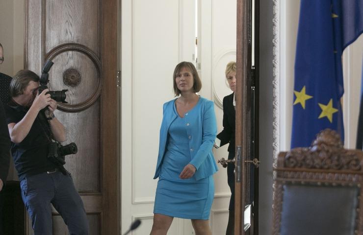 Riigikogu valis Eesti presidendiks Kersti Kaljulaidi