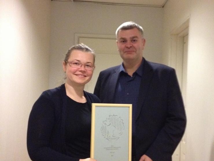 Keskkonnaameti juht sai Varjupaikade MTÜ-lt preemia