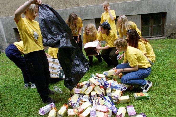 Uuring: üha rohkem inimesi sorteerib pakendijäätmeid