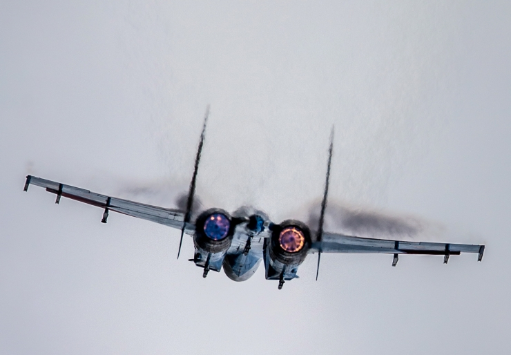 Venemaa hävituslennuk rikkus Eesti õhupiiri