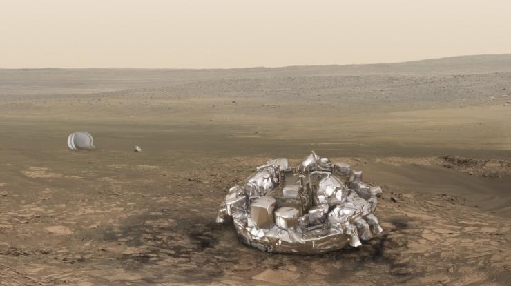 ESA: Me ei tea, mis Marsile laskunud maandurist sai