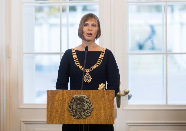 President Kersti Kaljulaid: noore emana kogusin terve aasta külmkapi ostuks raha
