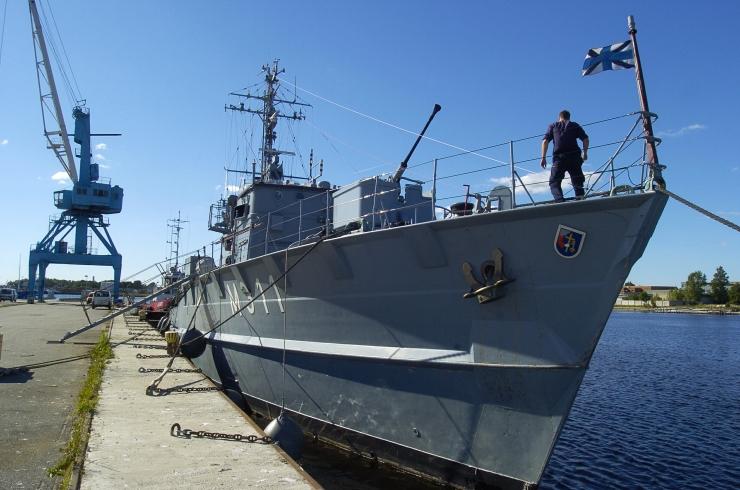 Merevägi võttis teenistusse tuukri-ja toetuslaeva Wambola