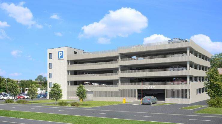 Technopolis Ülemiste ja Nordecon Betoon sõlmisid lepingu Ülemiste Citysse parkimismaja ehitamiseks