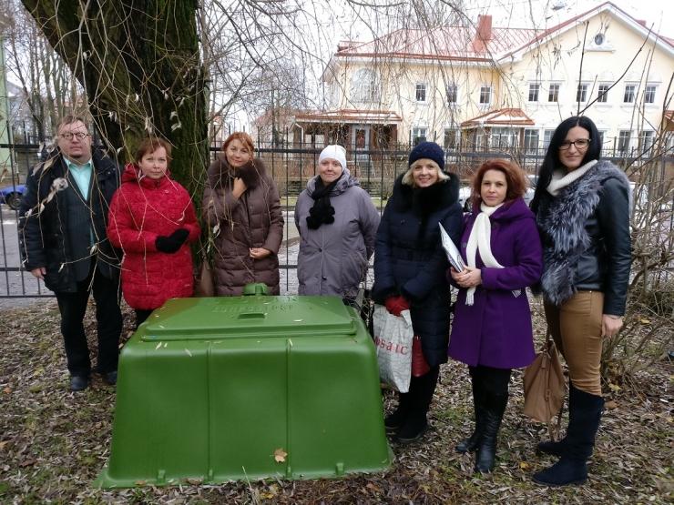 Põhja-Tallinna valitsus varustab lasteaedasid kompostikastidega