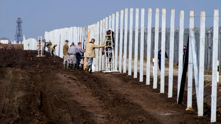Ungari lõunapiiril jõudis lõpule teise tara esimese lõigu ehitamine