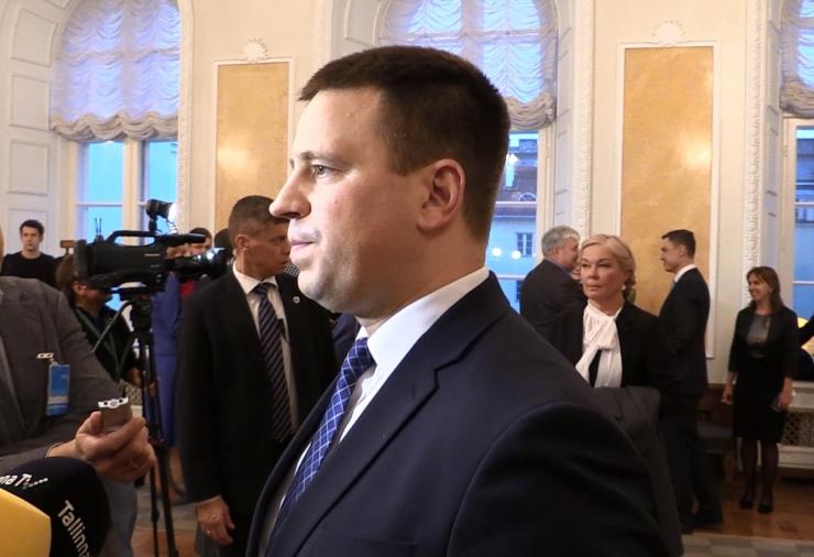 Jüri Ratas: ma loodan, et töine atmosfäär kestab kuni valimisteni