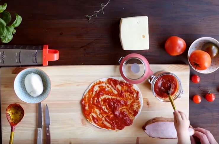 VIDEO! Õpi ülimaitsvat ja lihtsat tortiljapitsat valmistama